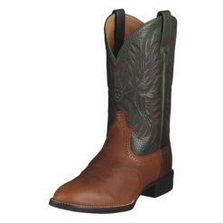 Botas Ariat Mod Mens Heritage Stockman Cedar Green