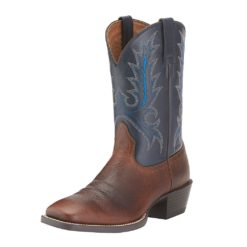 Botas Ariat Mod Mens Sport Outfitter Fiddle Brown Blue