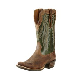 Botas Ariat Mod Mens Futurity Branding Iron Tan/Neon