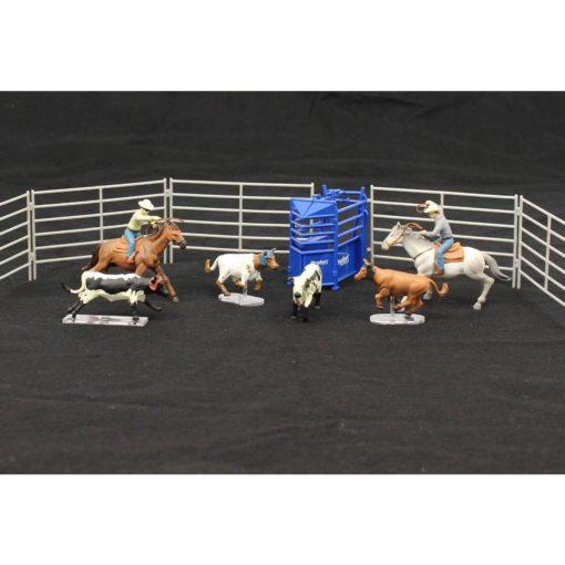 Priefert Farm & Ranch Equipment Set de Team Roping