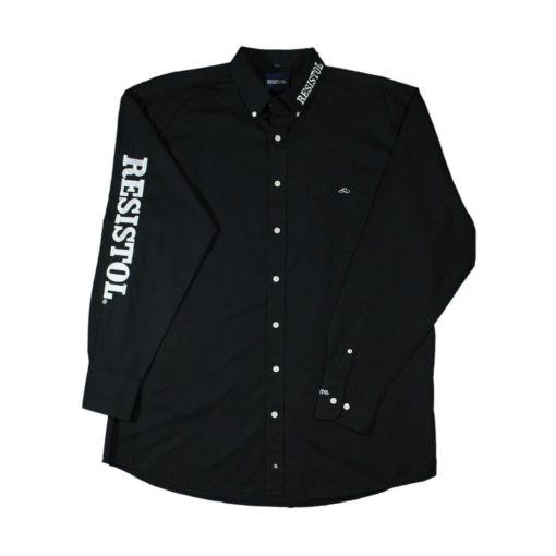 Camisa Resistol Marketing Black/White
