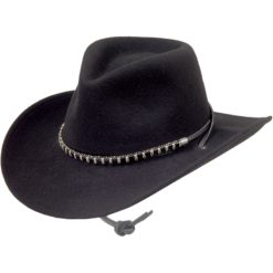 Stetson Black Foot Crushable Black