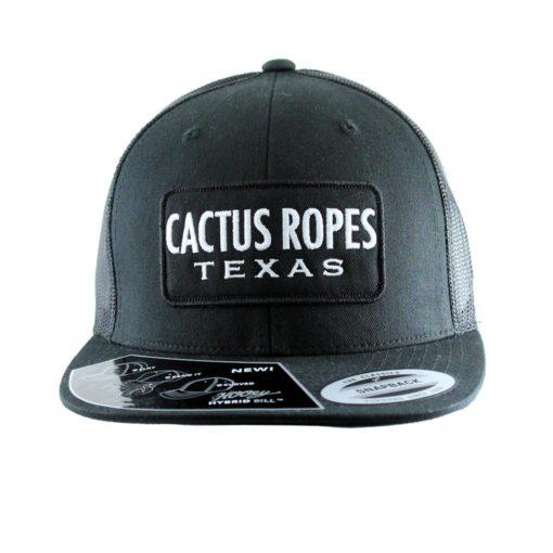 Cachucha HOoey Cactus Ropes Black Trucker