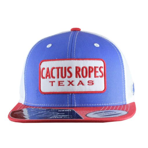 Cachucha HOoey Cactus Ropes Blue Red
