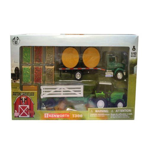 Set De Plataforma y Tractor Con Implementos