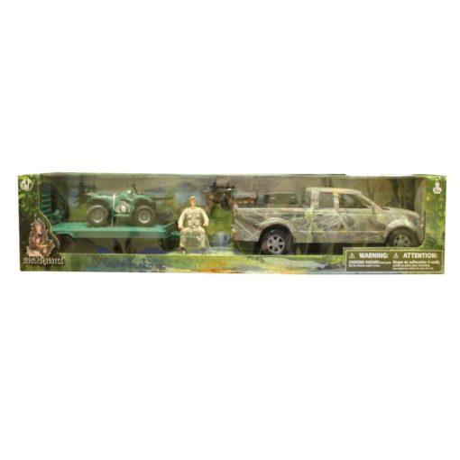 Camioneta Ford Lobo Con Remolque y Cuatrimoto