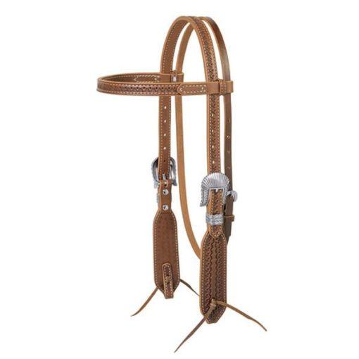 Cabezada Weaver Brown Navajo Mod 10-0430