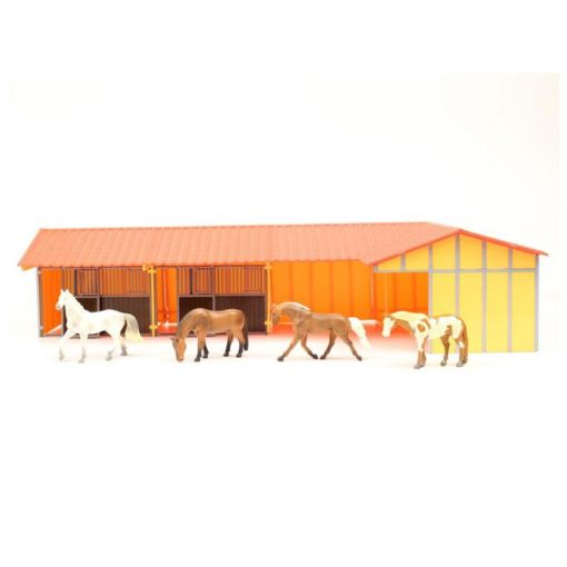 Priefert Farm & Ranch Equipment Establo Para Caballos
