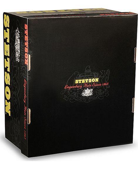 Stetson Shasta 10x Black Copa Alta