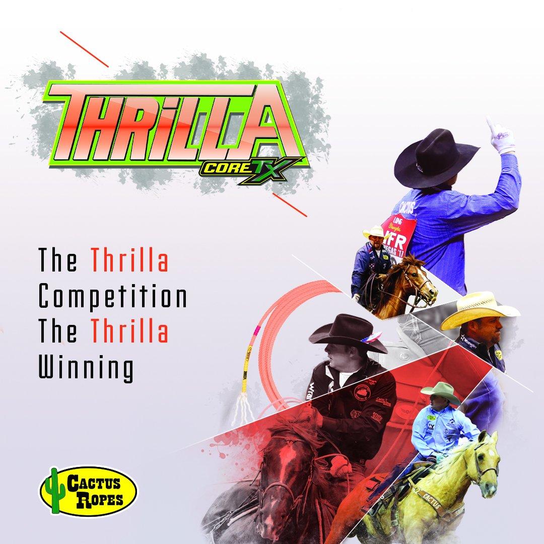 Cactus Ropes Thrilla CoreTX Pialadora