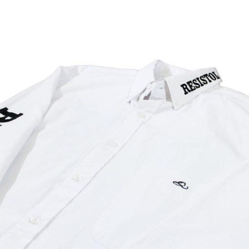 Camisa Resistol Ranch Marketing White/Black