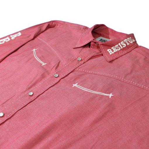 Camisa Resistol Reuben Marketing Snap