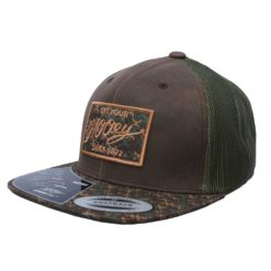 Cachucha HOoey Rusty Brown Camo Patch